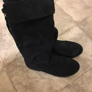 Other - Girls size 5 Medium tall black boots